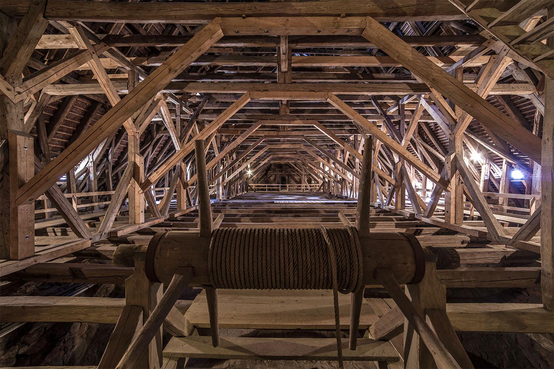 Unterm Dach im Dom zu Meißen