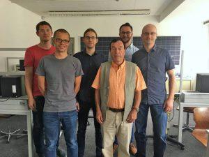 Inno Team der SAT-Kabel GmbH und der Hochschule Mittweida